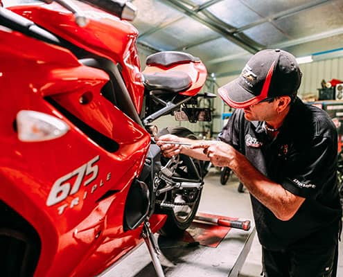 Motorcycle Servicing Experts in Perth - Chain Reaction